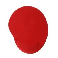 Mouse Pad, Acteck, AC-916646, Confort Pad con Reposa muñecas de Gel, Rojo