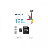Memoria SD, ADATA, AUSDX128GUICL10A1-RA1, MicroSDXC UHS-1 U1, 128 GB, Clase 10, Inlcuye Adaptador