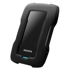 ADATA - Disco Duro Externo, Adata, AHD330-1TU31-CBK, HD330, 1 TB, USB 3.1, Slim, Negro
