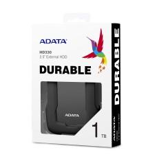 Disco Duro Externo, Adata, AHD330-2TU31-CBK, HD330, 2 TB, USB 3.1, Slim, Negro