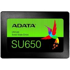 Unidad de Estado Sólido, Adata, ASU650SS-120GT-R, 120 GB, 2.5 Pulgadas, SATA III, Negro