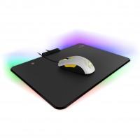 Mouse Pad, Genius, 31250002400, RGB, Negro