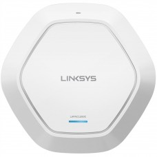 LINKSYS - Access Point, Linksys, LAPAC1200C, Doble Banda, 2.4 GHz, 5 GHz, PoE +, MIMO 2x2, 1200 Mbps, Blanco