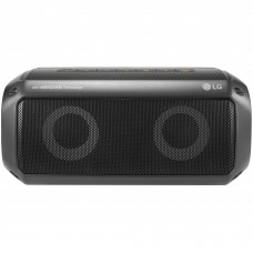 LG - Bocina, LG, PK3, Portatil, Bluetooth, Resistente al Agua, Negro
