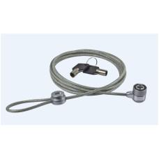 Perfect Choice - Candado de seguridad, Prefect Choice, PC-160076, Llave Universal, 2 m, Acero recubierto de PVC