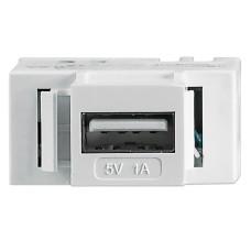 Conector Jack Keystone USB Pared, Intellinet, 772167, 5V, 1A