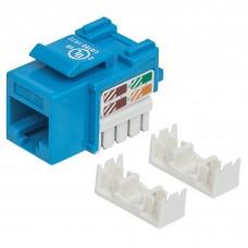 INTELLINET - Conector Jack de Impacto Intellinet Cat5E Azul