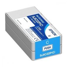 EPSON - Cartucho de Tinta, Epson, C33S020581, Cian, 32.5ml