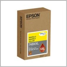 EPSON - Cartucho de Tinta, Epson, T748XXL420-AL, Amarillo, Alta Capacidad