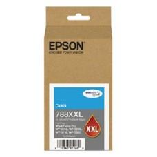 EPSON - Cartucho de Tinta, Epson, T788XXL220-AL, Cian, Alta Capacidad