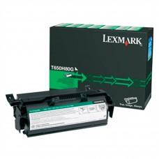 LEXMARK - Cartucho de Tóner y Cartucho Laser, Lexmark, T650H80G, Negro, 25000 Paginas