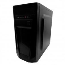 KMEX - Gabinete, KMEX, CM08TGRA001KMX, Con fuente de poder ATX de 450 Watts, Negro