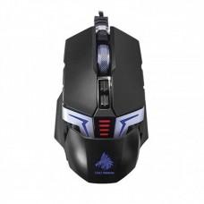 Mouse, Eagle Warrior, MGG77FLASHEGW, G77 The Flash, Alambrico, Colores LED, USB, Negro