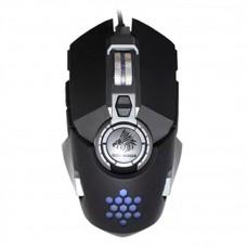 Mouse, Eagle Warrior, MGGX61HIVEEGW, HIVE, Led Personalizable, USB, Negro
