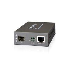 TP LINK - Convertidor de Fibra Óptica, TP-Link, MC220L, SFP, Multimodo