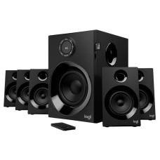 LOGITECH - Bocinas, Logitech, 980-001315, 160W de pico/80W RMS, Bluetooth, 3.5mm, RCA, Negro