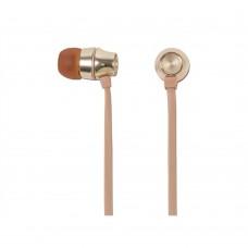 Audífonos manos libres, Mobifree, MB-02015, respuesta de frecuencia 20-20KHz, Dorado