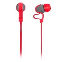 Audífonos con Micrófono, Mobifree, MB-916387, 3.5 mm, Rojo