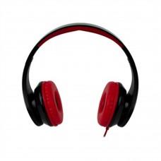 Perfect Choice - Audífonos con Micrófono, Perfect Choice, EL-995180, Alámbrico, 3.5 mm, Negro, Rojo