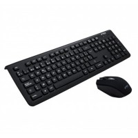 Teclado y Mouse, Acteck, AC-922845, Inalámbrico, USB, Negro