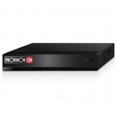 DVR, Provision ISR, SH-16200A-2L(MM), 16 canales análogos, Híbrido (AHD, CVI, TVI, CVBS), 2 canales IP adicionales, Negro