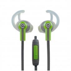 Perfect Choice - Audífonos con Micrófono, Easy Line, EL-995227, 3.5 mm, Verde, Gris