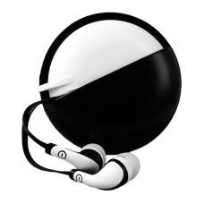 Perfect Choice - Audífonos con Micrófono, Easy Line, EL-995234, 3.5 mm, Negro, Blanco