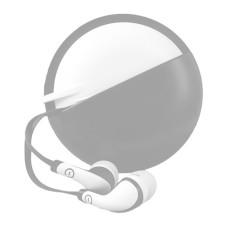 Perfect Choice - Audífonos con Micrófono, Easy Line, EL-995241, 3.5 mm, Gris, Blanco