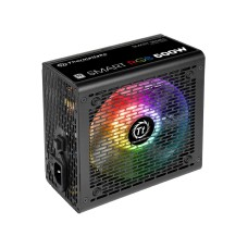THERMALTAKE - Fuente de Poder, Thermaltake, PS-SPR-0500NHFAWU-1, Smart RGB 500W, ATX, 80 Plus Certified, Negro