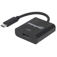 MANHATTAN - Adaptador de Video, Manhattan, 152020, USB-C a DisplayPort, Negro