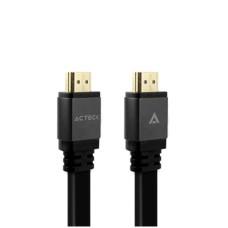 ACTECK - Cable de Video, Acteck, AC-923026, 15 cm, HDMI a HDMI, Negro