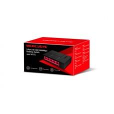 Switch, Mercurys, MS105G, 5 puertos, Gigabit, Negro