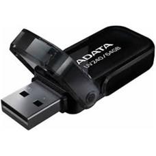 ADATA - Memoria USB 2.0, Adata, AUV240-16G-RBK, 16 GB, Negro