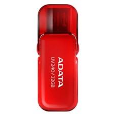 ADATA - Memoria USB 2.0, Adata, AUV240-32G-RRD, 32 GB, Rojo