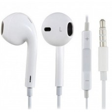 Audífonos con Micrófono, Brobotix, 611226, Alambrico, 3.5 mm, Blanco