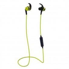 Audífonos con Micrófono, Brobotix, 497493, Inalambrico, Bluetooth, MicroSD, Verde