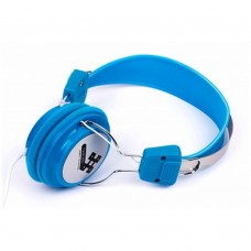 NACEB - Audífonos con Micrófono, Naceb, NA-020A, Alambrico, 3.5 mm, Azul