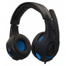 NACEB - Audífonos con Micrófono, Naceb, NA-0304A, Alámbrico, HI-FI, Negro/Azul