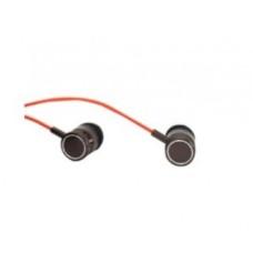 Audífonos con Micrófono, NACEB, NA-0305N, Alambrico, Negro Cable Rojo