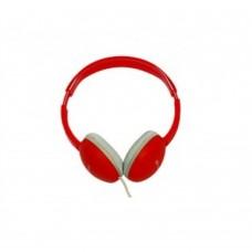 NACEB - Audífonos con Micrófono, Naceb, NA-419R, Alámbrico, 3.5 mm, Rojo
