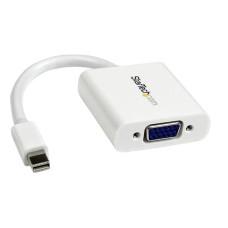STARTECH - Adaptador de Video, StarTech, MDP2VGAW, Mini DP a VGA, Blanco