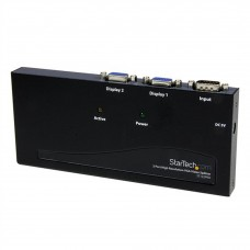 STARTECH - Adaptador de Video, Startech, ST122PRO, Divisor VGA, 2 puertos, Splitter