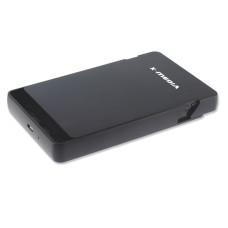 Gabinete Disco Duro, X-Media, XM-EN2279, SATA a USB 2.0, Negro