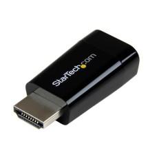Adaptador de Video, StarTech, HD2VGAMICRO, HDMI a VGA, Negro, Compacto