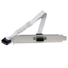 StarTech - Adaptador, StarTech, PLATE9M16, Bracket a Serial DB9, RS232, Gris