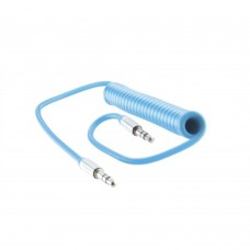 ACTECK - Cable de Audio, Acteck, LKCA-002, Macho 3.5mm a Macho 3.5mm, 1 m, Azul