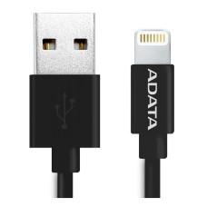 ADATA - Cable de Datos, Adata, USB A, Lightning, 1 m, Negro