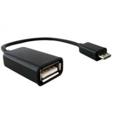 Cable de Datos, Brobotix, 097242, MHL, OTG, Micro USB a USB A