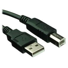 BROBOTIX - Cable USB 2.0, Brobotix, 102303, Tipo A a Tipo B, Negro
