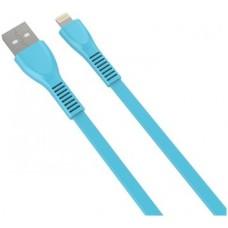 NACEB - Cable de USB 2.0, Naceb, NA-0102Z, Lightning, 1m, Azul